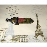 Unakite Crayon Pendentif 3,3 Cm Pierre Naturelle Bien être Et Pouvoir (4) - Minerals