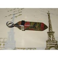 Unakite Crayon Pendentif 3,3 Cm Pierre Naturelle Bien être Et Pouvoir (5) - Minerals