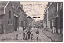 Ascq, Rue Marceau, Alte Ansichtskarte 1914 - Villeneuve D'Ascq