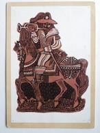 """Torun  Gingerbread  """" Trumpeter """"  1650 Year  / Poland - Museen"""