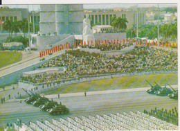 LA HABANA ARMY, MILITARY PARADE TANKS TANK CUBA POSTCARD - Cuba