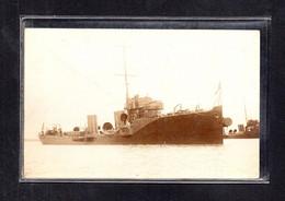 (15/04/21) THEME BATEAUX-CPA BATEAU DE GUERRE A IDENTIFIER - CARTE PHOTO - Warships