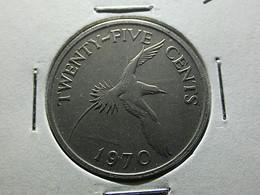 Bermuda 25 Cents 1970 - Bermuda