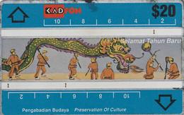 MALASIA. Selamat Tahun Baru 3. 1993-01. 306E. MLS-L-36. (048) - Malaysia