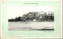 9066 - Palästina - Vues De Palestine , Port De Jaffa , Edition De La Chocolaterie D' Aiguebelle - Nicht Gelaufen - Palestine