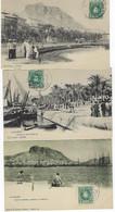 ESPAGNE -  7 CARTES - ALICANTE - 1905 - Alicante