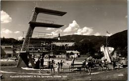 9203 - Niederösterreich - Gloggnitz , Alpenbad , Sprungturm 10 Meter Hoch , Freibad , Schwimmbad - Nicht Gelaufen 1955 - Neunkirchen
