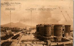 9313 - Italien - Napoli , Piazza Municipio , Hotel Milan & Schweizerhof , Imbarco Per Sorrento , Capri , Positano - Gela - Napoli (Napels)