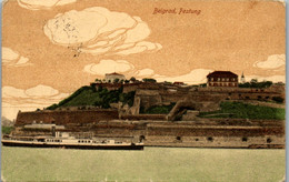 9335 - Serbien - Belgrad , Festung , Schiff , Feldpost , Zensuriert , Censor - Gelaufen 1917 - Serbia