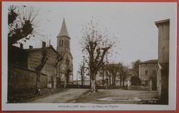 LE MAS RILLIER (01/Ain), Près De MIRIBEL - Place De L'Eglise - Other Municipalities