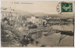 12 - SANARY - Boulevard Courbet - Sanary-sur-Mer