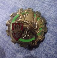 Insigne E.T.C. Du 43° Régiment D'Infanterie - Train - Hueste