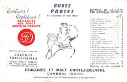 Chi De/14/04/ Buvard Chicorée Protez Delatre (N= 2) - Coffee & Tea