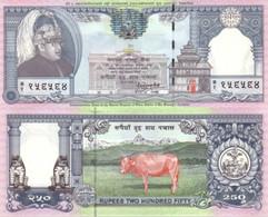 NEPAL 250 Rupees ND ( 1997 ) P 42 UNC Stapled - Nepal