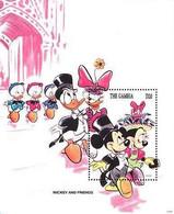 MWD-BK2-112-2 MINT PF/MNH ¤ GAMBIA 1994 BLOCK ¤- THE WORLD OF WALT DISNEY -- FRIENDS OF WALT DISNEY - Disney