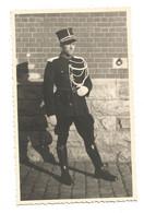 Originele Foto Belgische Rijkswacht In Ceremonieel Uniform - Polizei