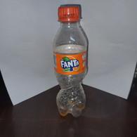 HABRON-FANTA-orange-(bottle-plastic)-(100ml)-used - Other Bottles