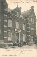 SOIGNIES - Ecole Industrielle - Ancien Orphelinat - Carte Circulé En 1905 - Soignies