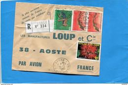 Marcophilie-Cote D'ivoireque-lettre+Thematic>Françe Cad-ARRAH-1980-4-stamps-N°508e Criquet+508 A  Music - Ivory Coast (1960-...)