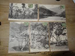 VIETNAM : Lot De 5 Cartes Des Environs De TOURANE ............. 4176 - Vietnam