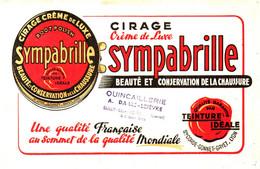 Ci S/14/04/ Buvard Cirage Sympabrille (N= 1) - Paints