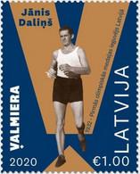 Latvia Lettland Lettonie 2020  Janis Dalins - Walking -  Olympic Olympic Winner  - Los Angeles 1932 - Latvia