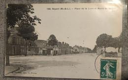 49 Noyant. Place De La Lune Et Route De Baugé - Other Municipalities