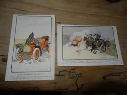 Illustrateurs : Lot De 2 Cartes KOSSUTH ............. 4178 - Non Classés