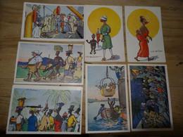 Illustrateurs : Lot De 7 Cartes BOIREAU ............. 4179 - Non Classés