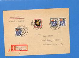 Allemagne Zone Française  1946  Lettre De  Idar-Oberstein (G1364) - Zona Francese