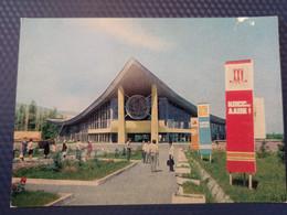 Kyrgyzstan, Frunze Capital, Pavillion Of Exibition,  Soviet Architecture. 1977  Old USSR PC - Stationery - Kyrgyzstan