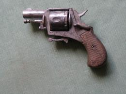 Petit Revolver Bulldog XIXe - Armi Da Collezione