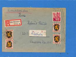 Allemagne Zone Française  1947  Lettre De  Idar-Oberstein (G1366) - Zona Francese