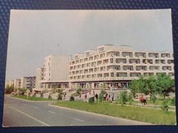Kyrgyzstan, Frunze Capital, Sovetskaya Street Houses  Soviet Architecture. 1978  Old USSR PC - Stationery - Kyrgyzstan