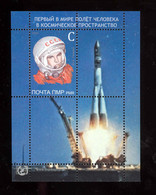 Transnistria 2021 60th Anniversary Of The First Journey Into Outer Space - Gagarin S/s** MNH - Moldova