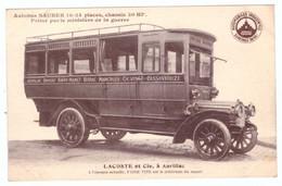 N2L10 France Autobus Saurer Lacoste Et Cie, A Aurillac - Sansac Saint Mamet Vitrac Marcoles Calvinet Cassaniouze - Other