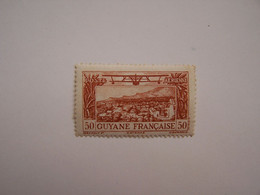 France Guyane 1886-1949 Neuf Vue De Cayenne 1933 - Nuevos