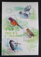 France 2021 Oiseaux Des Iles- Bloc Oblitéré. - Used Stamps