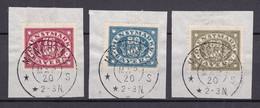 Bayern - 1920 - Dienstmarken - Michel Nr. 53/55 - Gestempelt - Bayern