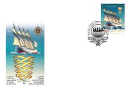 Latvia / Lettonia / Lettland – 2020  Four-masted Sailing Vessels - SHIP - FDC - Latvia