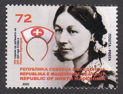 North Macedonia 2020 200 Years Anniversary Florence Nightingale Medicine Health Red Cross MNH - Macedonia