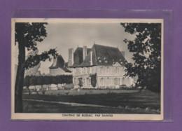 17-CPA SAINTES - CHATEAU DE BUSSAC - Saintes