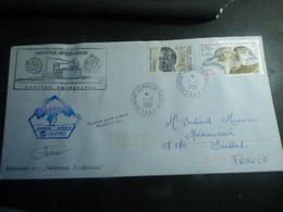 DESTOCKAGE- TAAF  BELLE  LETTRE 2001  TERRES AUSTRALES ET ANTARTIQUES-  TBE- - Covers & Documents
