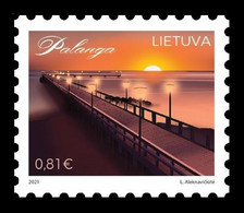 Lithuania 2021 Mih. 1349 Bridge Of Palanga MNH ** - Lituania