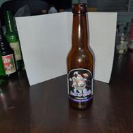 Israel-Kraft Beer-Milky Way-beer Crapat-(330ml)-(5.5%)-bottles-used - Beer