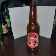 Israel-Strong Beer-strawberry Wheat-(330ml)-(6.5%)-bottles-used - Beer