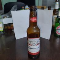 Belguim-budweiser King Of Beers-(330ml)-(5%)-bottles-used - Beer