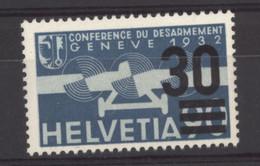 0ch  1304  -  Suisse  -  Avion  :   Yv  22  Mi  292  * - Ongebruikt
