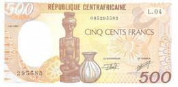 República Centroafricana 500 Francs 1-1-1991 Pk 14d UNC Ref 2912-1 - Central African Republic