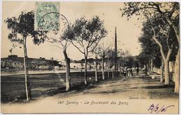 647 - SANARY - Le Boulevard Des Bains - Sanary-sur-Mer